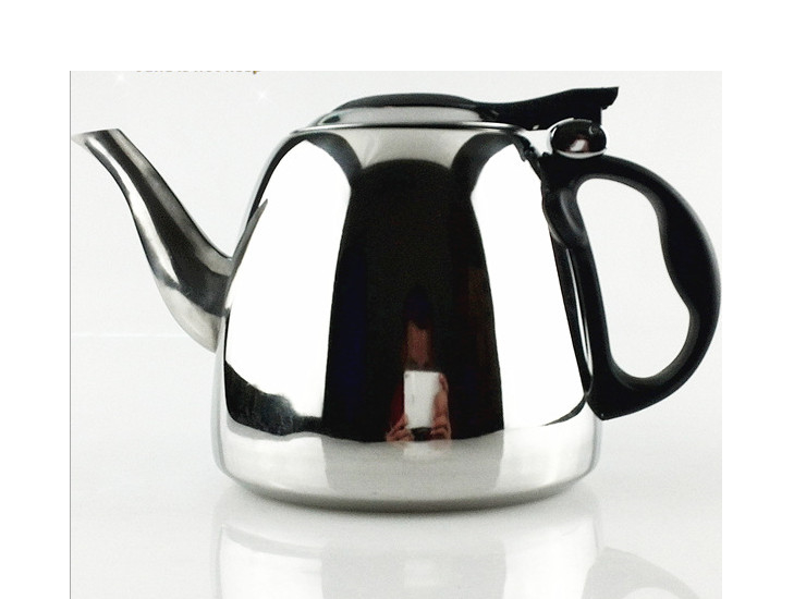 1.2L Stainless Steel Special Induction Cooker Kettle Pot Teapot With Cover Flat Kung Fu Teapot