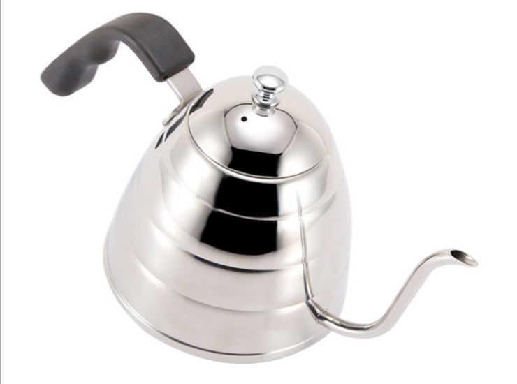 304 Stainless Steel Hand Wash Pot Hand Red Coffee Pot Stainless Steel Coffee Brew Mouth Pot 900Ml