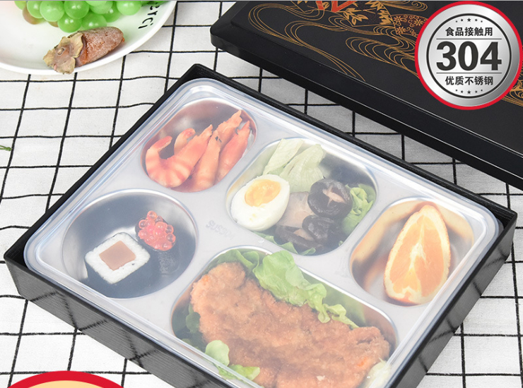 304 Stainless Steel Lunch Box With Lid