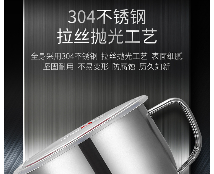 304 Stainless Steel Noodle Rice Bowl Large Capacity Sealed Rice Bowl With Lid Handle Instant Noodle Cup Instant Noodle Ramen Bowl Non-Magnetic