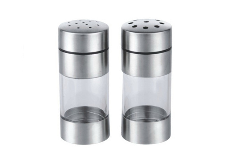 304 Stainless Steel Pepper Dusting Powder Large Hole / Small Hole