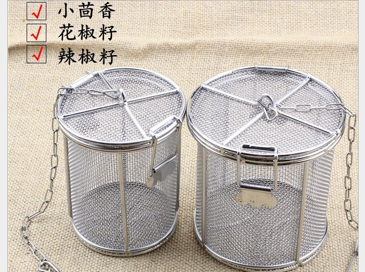 304 Stainless Steel Seasoning Package Halogen Ball Ball Soup Ball Soup Dumplings Tea Bags Medicine Package Condiment Tank Containers