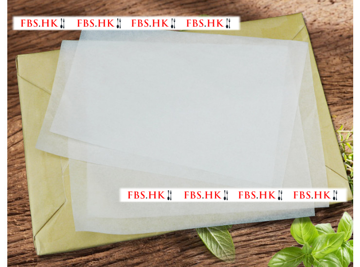 (500 Sheets) 30 * 20 Imported Barbecue Paper Baidu Barbecue Paper Silicone Oil Paper Oil Proof Paper Oven Baking Paper