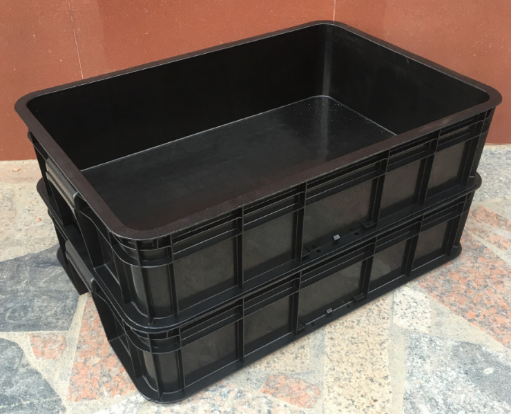 540*420*370Mm Plastic Box Blue Turnover Box Plastic Plastic Box Basket Red Material Box Green Plastic Box