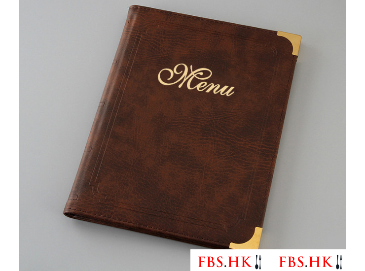 A4 File Menu A La Carte Leaflet Menu Transparent Menu Restaurant Leather Drinks Brand