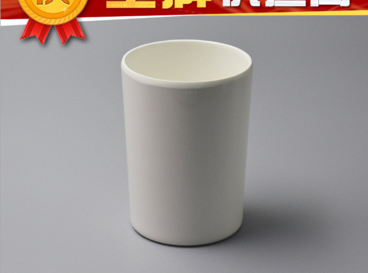 A5 High-Grade Melamine Straight Mouth Cup Melamine Restaurant Straight Cup Buffet Ktv Drink Imitation Porcelain Cup White