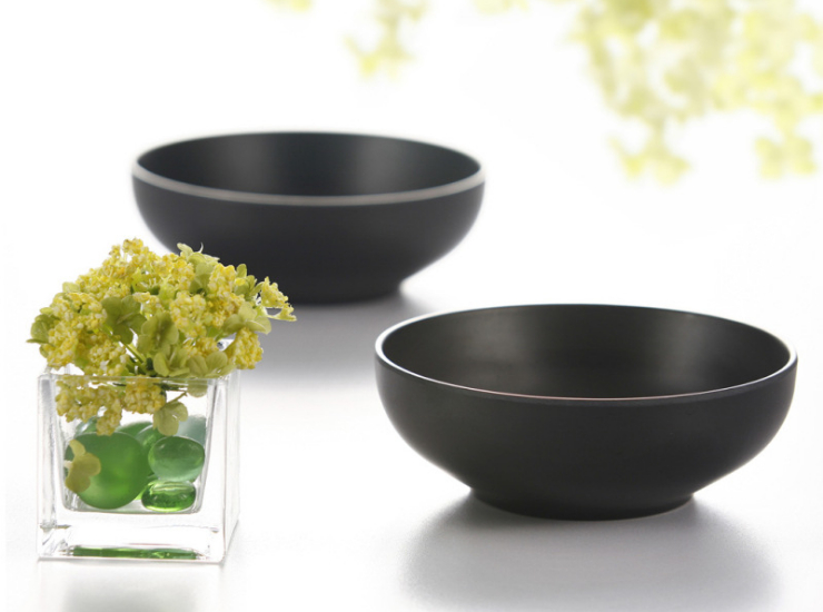 A5 Melamine Korean Soup Bowl Ramen Rice Bowl Creative Pcs Sex Rice Bowl Home Hotel Melamine Tableware (Multiple Sizes)