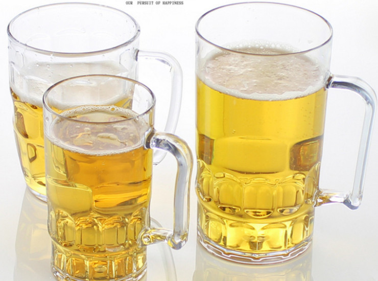 Acrylic Barbecue Cup Ktv Large Glass Of Beer Cup Cup Cups Ktv Bar Cup Plastic Drink Cup Creative Drop