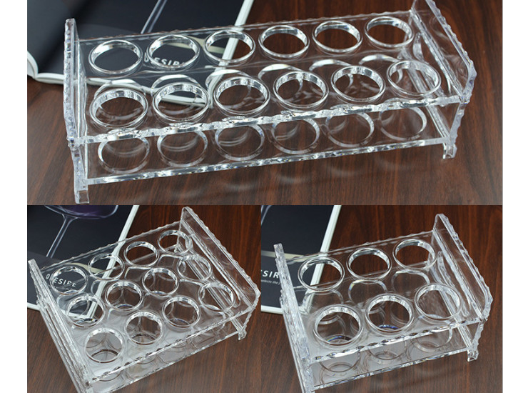 Bar Bullets Cups Wine Glass Cups Shelves Acrylic 6/12/24 Thickened Stir Wine Cup Holders