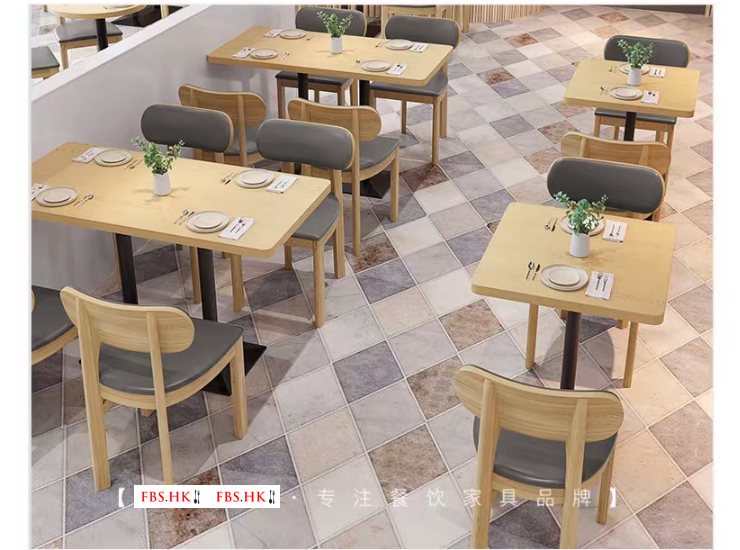 Booth Sofa Stool Bar Restaurant Commercial Table and Chair Dining Simple Dining Table Furniture Combination (Delivery & Installation Fee To Be Quoted Separately)