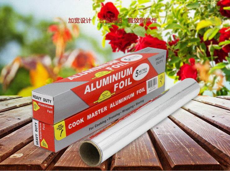 (Box / 100 Case) 30Cm X 5M Barbecue Paper Aluminum Foil Barbecue Tin Paper Baking Roasted Box Cooking 30Cm X 5M (Door Delivery Included)