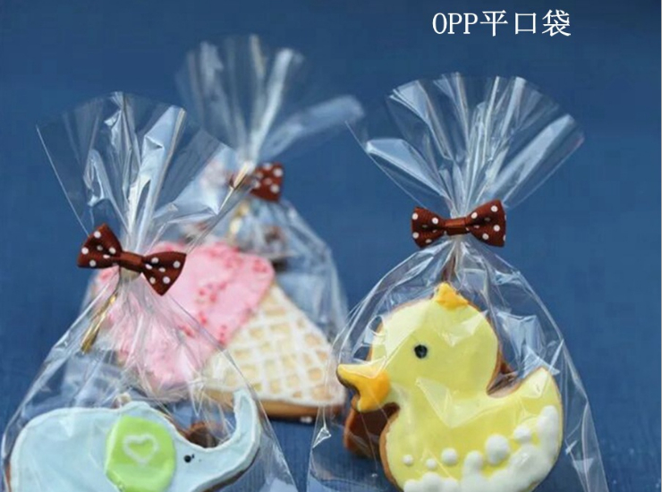 (Box / 10000 Pcs) Baking Packaging Bag Chocolate Candy Lollipop Transparent Plastic Bag 5C / 7C Opp Flat Pocket (Door Delivery Included)