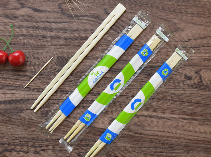 (Box / 800 Pairs) Disposable Chopsticks Wholesale ?]? Natural Bamboo Fast Food Packaging Health Convenience Chopsticks Toothpick Food Chopsticks (Door Delivery)