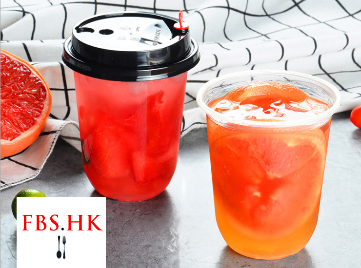 (Box) 95 Caliber 500Mml Milk Tea Fat Cup Juice Drink Cup Transparent Creative Pp Plastic U-Shaped Plastic Cup (Door Delivery Included)