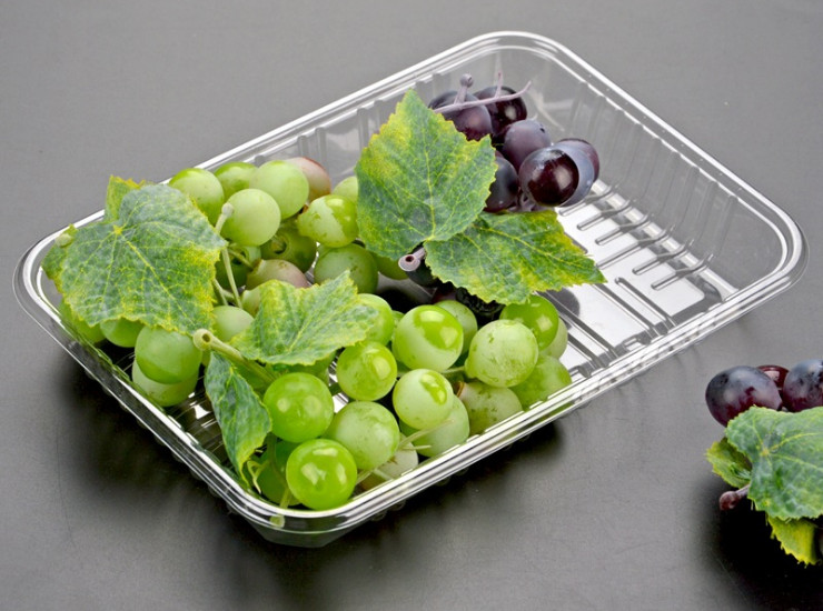 (Box/1000) One-Time Fresh Trays Supermarket Fruit And Vegetable Packaging Boxes Cold And Meaty Packaging Trays (Door Delivery Included)