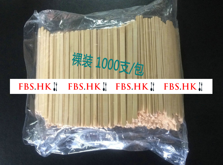 (Ready One-time Disposals Environmentally-Friendly Degradable Wooden Tableware In Stock) (Box/10000 Pieces) Disposable Wood Products Wood Coffee Stick Coffee Stick Stir Stick 14Cm/19Cm Naked