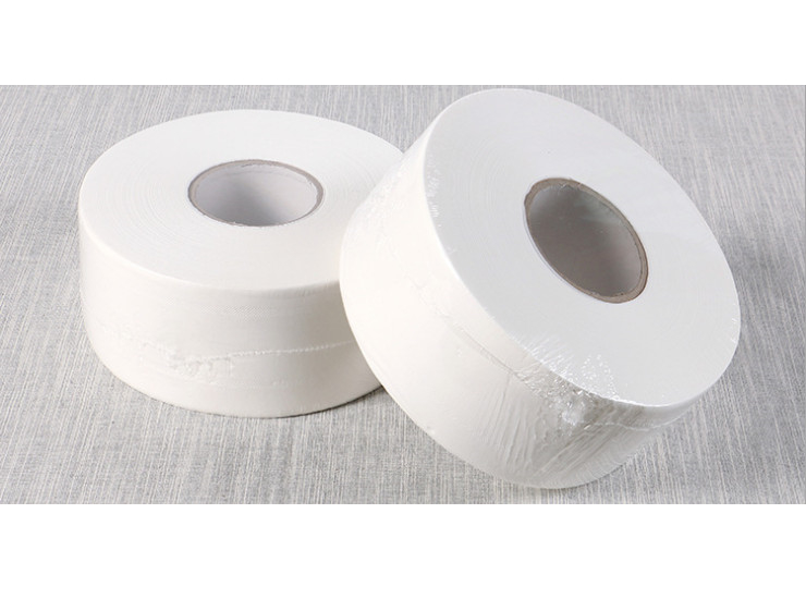 (Box/12 Roll) Business Paper Paper Company Company School Toilet Toilet Paper Large Roll Paper 12 Volume Handbag Delivery (Door Delivery Included)