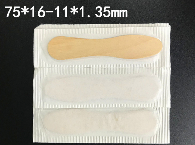 (Box/12000) Disposable Individually Wrapped Wooden Ice Cream Spoon Ice Cream Spoon (Door Delivery Included)