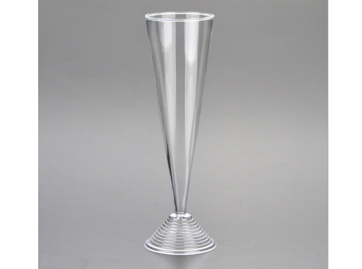 (Box/144) 100Ml Disposable Plastic Goblet Transparent Wine Champagne Glass Party Cocktail Glass (Door Delivery Included)