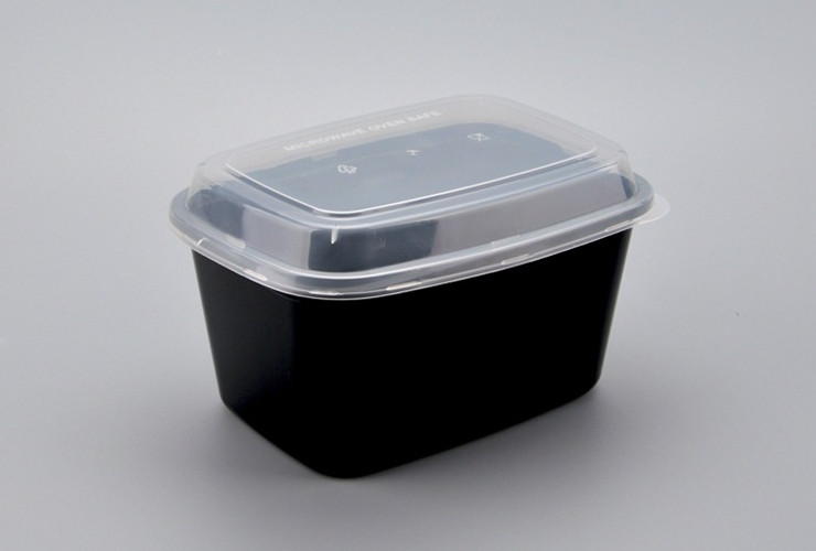 (Box/150 Sets) Disposable Plastic Lunch Box Extra Large Take-Out Packing Box Thickened Microwave 2000Ml With Flat Cover/Convex Cover (Door Delivery Included)
