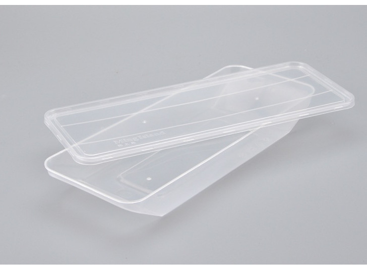 (Box/150 Sets) Small Fish Box 600Ml Big Fish Box 900Ml Disposable Plastic Packing Box Take-Out Storage Box Seafood Roast Duck Box With Lid (Door Delivery Included)