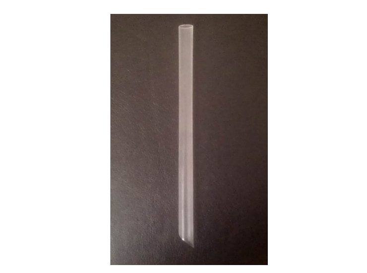 (Box/2000) 19Cm Transparent Large Straw Pearl Milk Tea Straw Disposable Straw Pp Plastic Straw (Door Delivery Included)