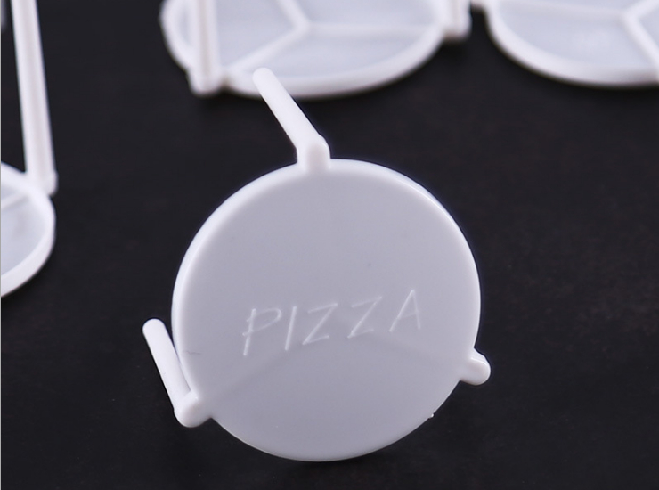 (Box/2000) Pizza Tripod Pizza Bracket Pizza Takeaway Stand Prevents Sticky Pizza Separator (Door Delivery Included)