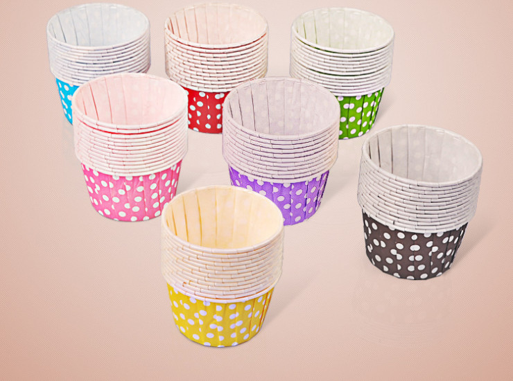 (Box/3000 Pcs) Cake Paper Cup Waterproof And Waterproof High Temperature Rolling Cup (Door Delivery Included)