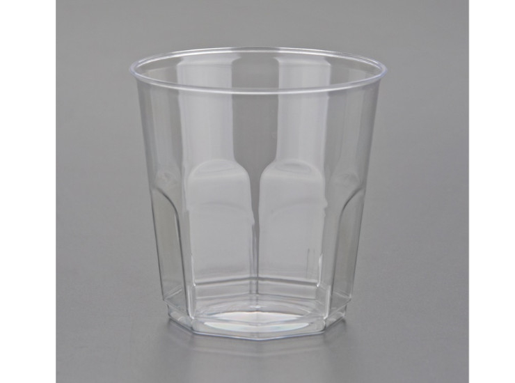 (Box/400) 200Ml Disposable Cups Aviation Cup Transparent Plastic Drinking Cup Office Reception Drinking Cups (Door Delivery Included)