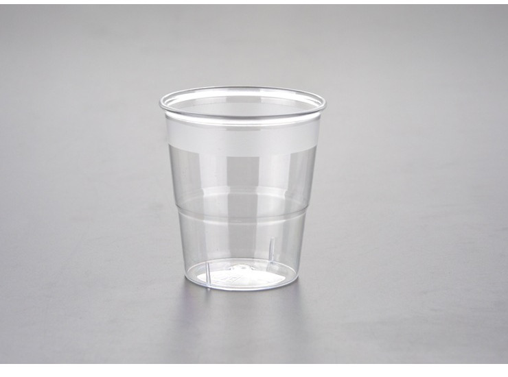 (Box/500) 100Ml Disposable Cup Transparent Plastic Tasting Tumbler Tasting Cup Small White Tea Cup Tea Cup (Door Delivery Included)