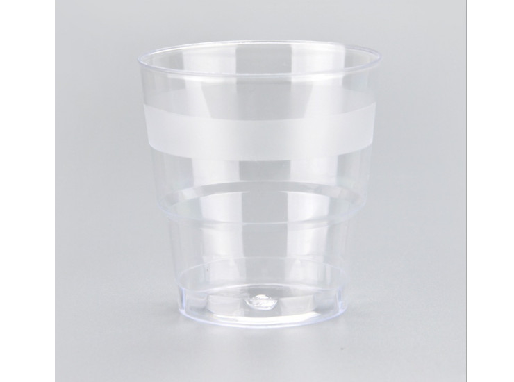 (Box/500) 200Ml Disposable Plastic Cup Ps Hard Plastic Air Cup Transparent Business Cup Reception Cup (Door Delivery Included)