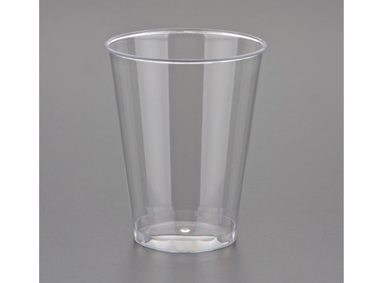 (Box/500) 8 Ounce Disposable Plastic Cup Ps Aviation Cup Office Reception Drinking Cup (Door Delivery Included)