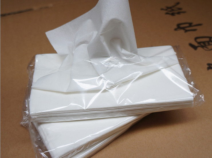 (Box/500 Pack)) 30 Pumping Bag Soft Bag Paper Custom Wholesale Hotel Ktv Bar Hotel Paper Towel (Door Delivery Included)