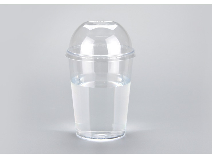 (Box/500 Sets) 300Ml Disposable Cup Ps Aviation Cup Transparent Plastic Juice Cup Milk Tea Cup Drink Cup (Door Delivery Included)