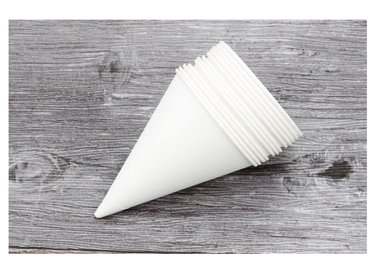 (Box/5000 Pcs) Conical Cup Cup Horn Cup Disposable Conical Cup Eco Friendly White Cone Conical Cup (Door Delivery Included)