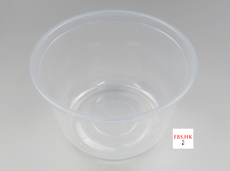 (Box/600) 1000Ml Disposable Rice Bowl Wholesale Fast Food Soup Bowl Plastic Plastic Transparent Bowl Take-Out Packaging Bowl (Door Delivery Included)
