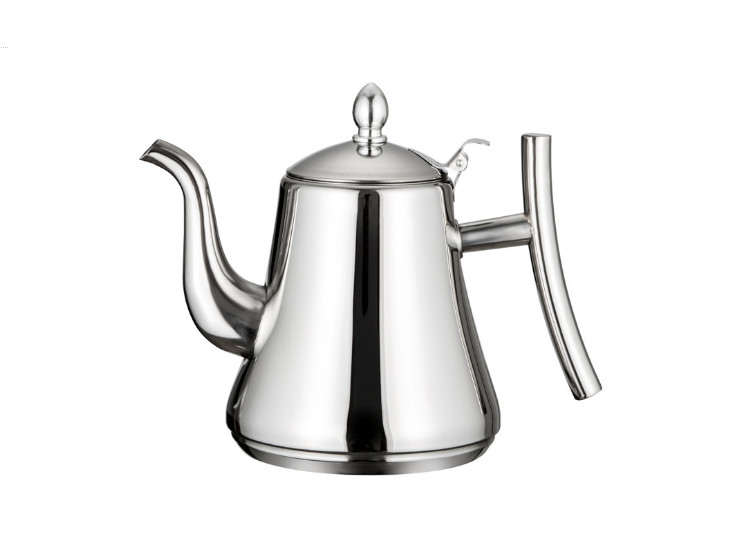 Card Type Pot Stainless Steel Hotel Teapot Fengxiang Pot Restaurant Hotel Filter Kettle Household Tea Kettle