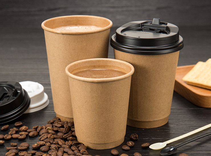 Wholesale (Carton/500) Disposable Paper Cups Made Of Thermal
