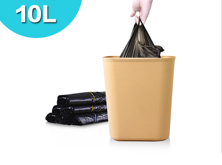 (Carton/500) Thickened Trash Bags Convenient To Handle Trash Bags Plastic Bags 10L Special 50 Installed Trumpet (Door Delivery Included)
