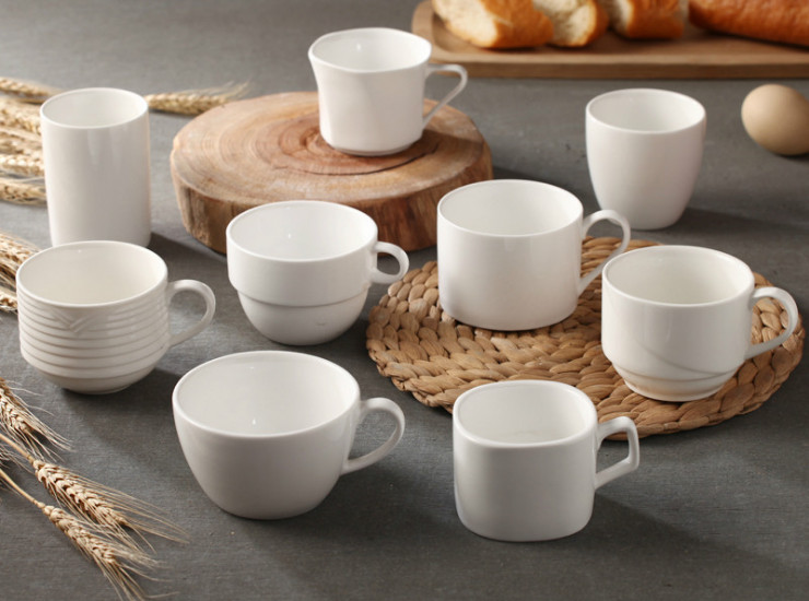 Ceramic Coffee Cup Continental Coffee Cup English Export Coffee Cup Hotel Supplies Ceramic Cup Cup Wholesale
