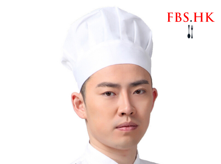 Chef Work Cap Hotel Chef Hat Kitchen Supplies Cake Shop Food Dustproof White Cloth Hat Men And Women