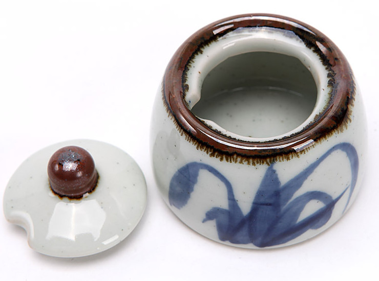 Chili Seasoning Pot Vinegar Soy Sauce Pot Salt Pot Japanese And Korean Creative Ceramics And Wind