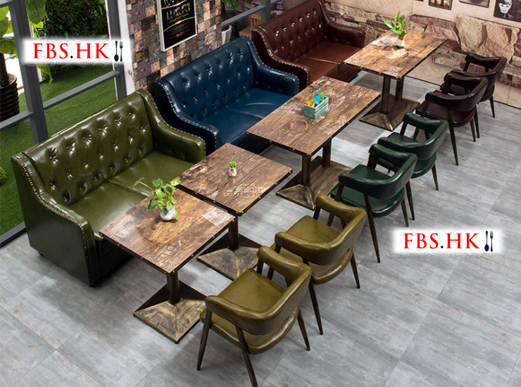 Coffee Sofas Cafes Tables Chairs Combination Office Lounges Dining Burgers