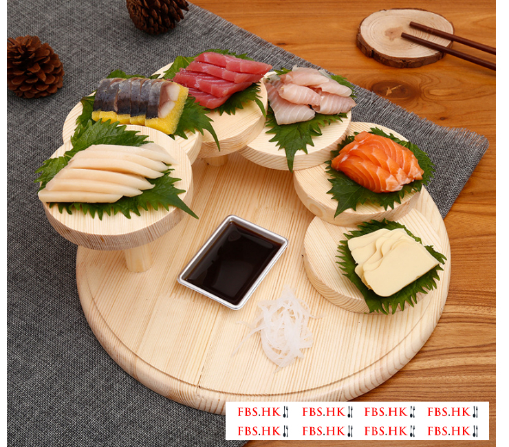 Creative Step By Step High Tableware Rotating Sushi Plate Fashion Italian Cuisine Japanese Barbecue Shop Pcs Hot Pot Tableware