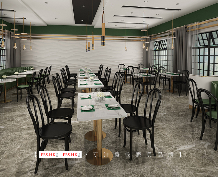 Dining Booth Combination Coffee Shop Fast Food Restaurant Milk Tea Shop Simple Retro Semicircle Booth Tea House Restaurant Tables and Chairs (Delivery & Installation Fee To Be Quoted Separately)