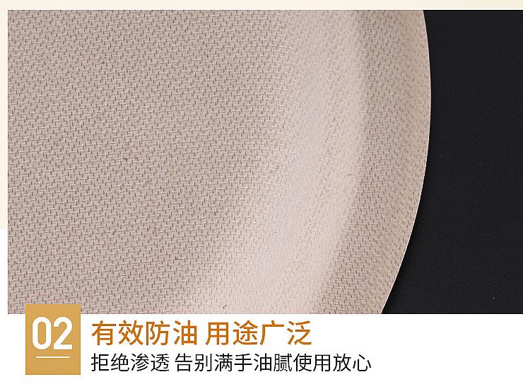 (Instant Pick Eco-fiendly Biodegradable Straw Pulp Round Plate Ready Stock) (Box/1000 pcs) Disposable 6/7/10-inch Biodegradable Small Round Plate Dessert Plate Fruit Cake Plate