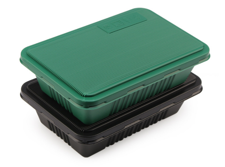 (Box / 300 Sets) Disposable Lunch Box Double Layer Japanese Takeaway Box Takeaway 800Ml Bento Fast Food Box (Including Door-To-Door Delivery)