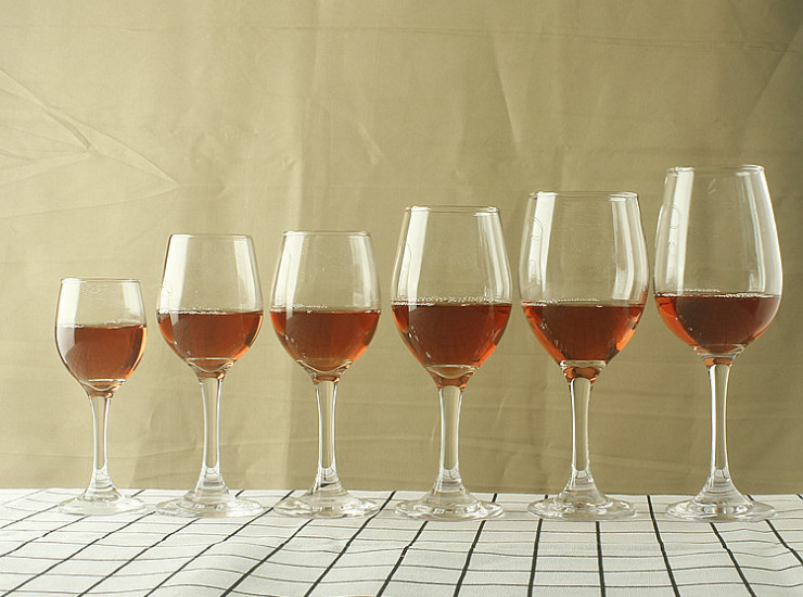Economical Lead-Free Glass Red Wine Glass Goblet Transparent Wine Glass Wine Set