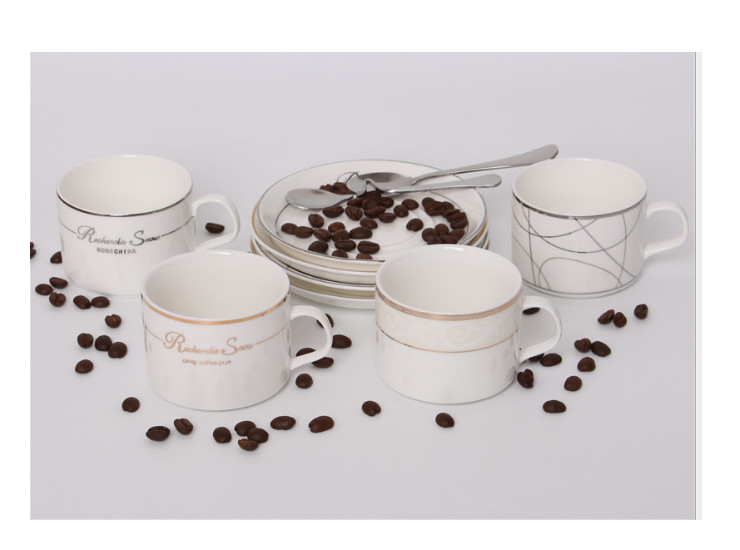 European Style Ceramic Cup Coffee Cup Set Creative Simple Home Coffee Cup Single Item Coffee Cup Set