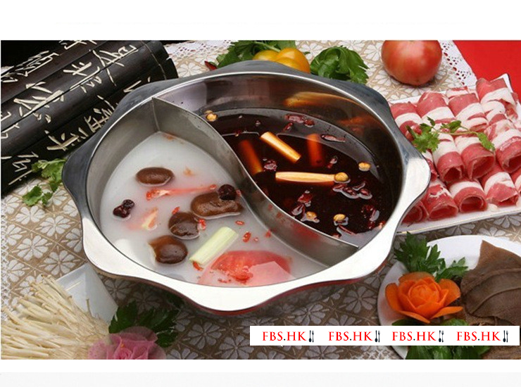Extra Thick Stainless Steel Sun Pot Shabu Shabu Shabu Shabu Hot Pot Induction Cooker Sun Pot